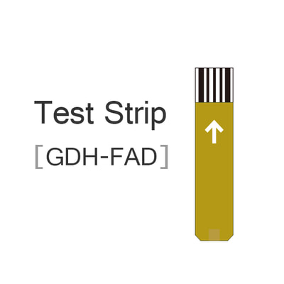 GDH-FAD test strip